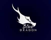 Logo blue dragon