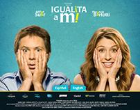 "Web site film ""Igualita a mi"""