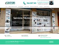 Diseño Web Sator.es