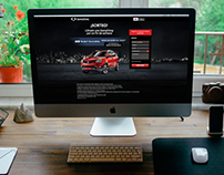 SsangYong - Landing Page