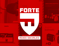 FORTE / Redes Sociales