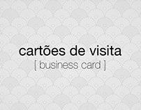 CARTÕES DE VISITA [ business card ]  *em construção*