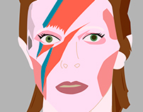 David Bowie, fan art