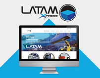 LatamXpress - Pagina Web