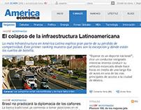 AmericaEconomia.com | Site Redesign