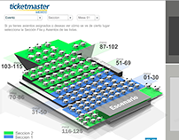 Mapa Interactivo Ticket Master