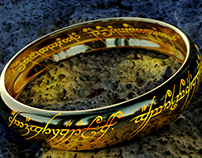 The One Ring (3D modeling)