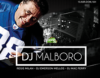Flyer Band Fm Dj Malboro #Flyer #Design #Festa