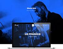 Diseño web para radio online - R27