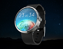 Watch Face Moto 360 Concept