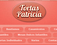 Tortas Patricia - Website Design