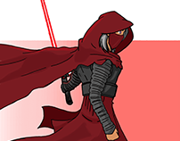 Kylo Ren (female version)