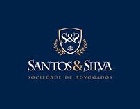 Santos&Silva Logo Design