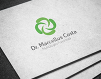 Dr. Marcellus Costa - Logomarca