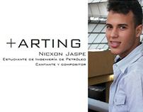 Entrevista +ARTING Nicxón Jaspe