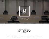 Página Web Dupla Arquitectura