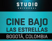 Reporte Cine Bajo las Estrellas   Studio Universal