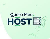 QueroMeu.Host | Hotsite Design