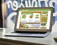 Sitio web con e-shop para Mundo Frutal Mercado Orgánico