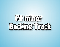 F# minor Backing Track (Leonardo J Laya G @Musicgeering