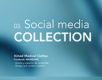 Social media design for Ximed Medical Clothes