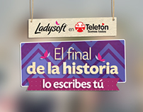 Campaña Teletón | Ladysoft