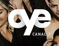 Oye Canal 7 - Website Design