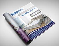 Fotomontaje y Flyer: Universo Colchones & Sommiers