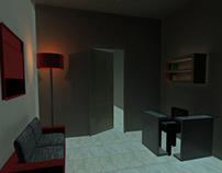 Crime scene - 3dMax