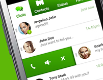 Mobile Chat app