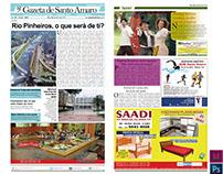 Reprodução do jornal Gazeta de Santo Amaro
