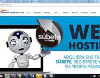 Portal para empresa de hosting