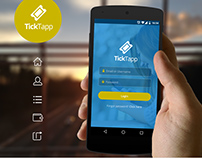 TickTapp UI App