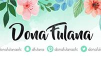 Facebook Cover Dona Fulana