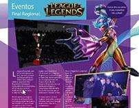 Template Magazine League of legends