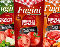 Criação de Embalagem para Molho de Tomate.