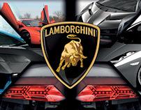 Catalogo Lamborghini (Proyecto no Comercial)