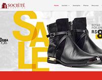 Criação do site shoppingsociete.com