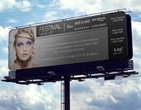 Outdoor & Flyer Festival make up