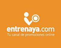 Infrographic - Diseño Freelance para entrenaya.com.ar