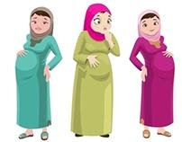Pregnant Arabs