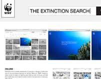 WWF • The Extinction Search