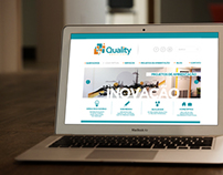 Web Site Adesivos Quality