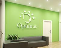 Diseño de interiores para empresa Optimus