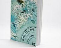"""The Old And The Sea"" Illustrations and book redesign"