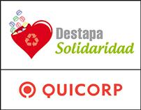 QUICORP - Campaña Destapa Solidaridad