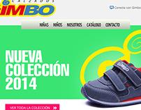 Web Calzados Gimbo 2014
