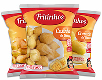 Fritinhos | Visual Identity and Package