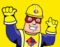 Mascote Super Sabadão