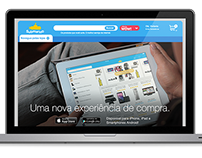 Landing Page - Submarino Apps